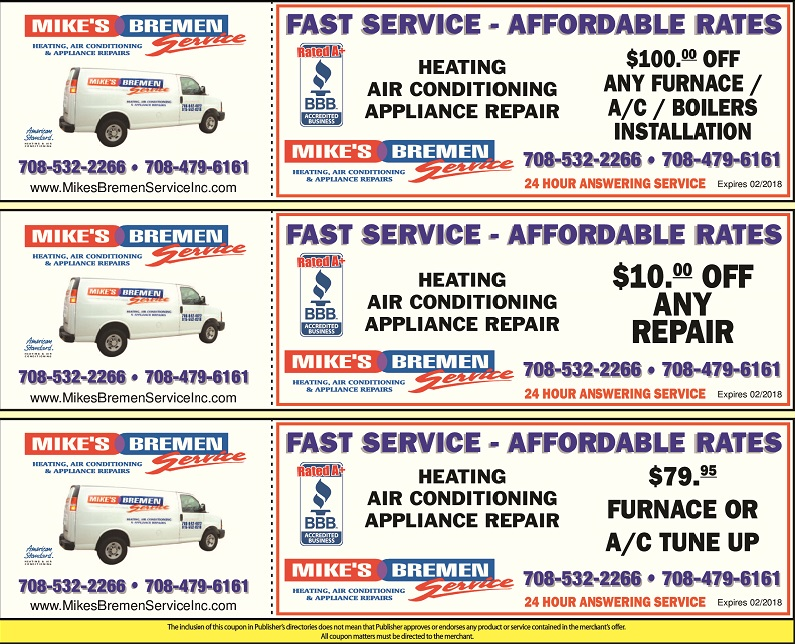 Mike S Bremen Service Wants You To Save